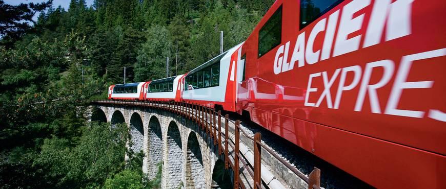 Suiza Impresionante y Glacier Express