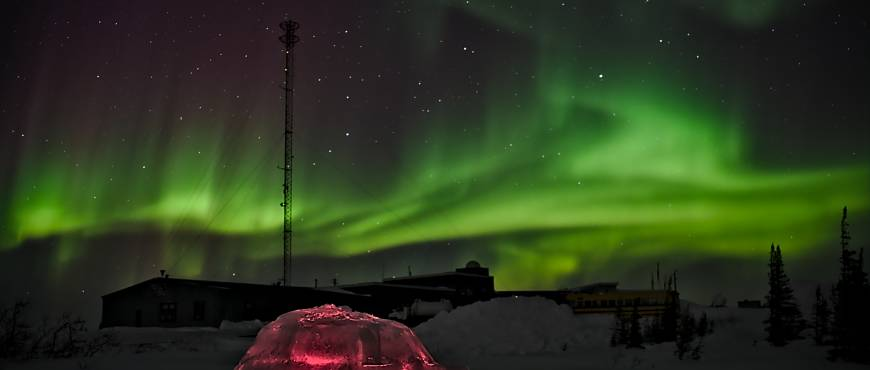 Auroras Boreales en Yellowknife