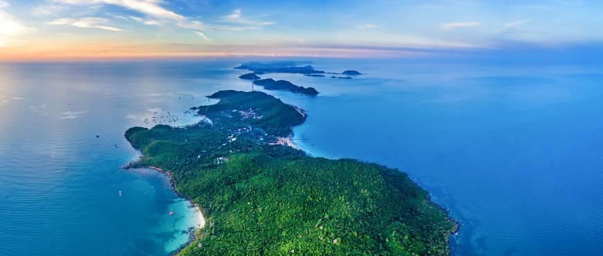 Exótica LUNA DE MIEL en la Isla de Phu Quoc