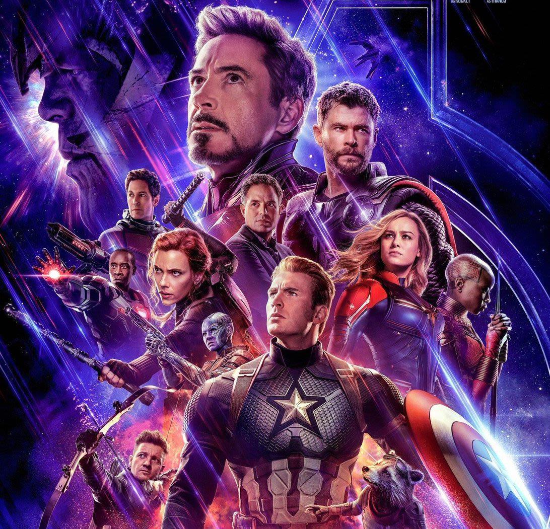 Avengers Paint Party