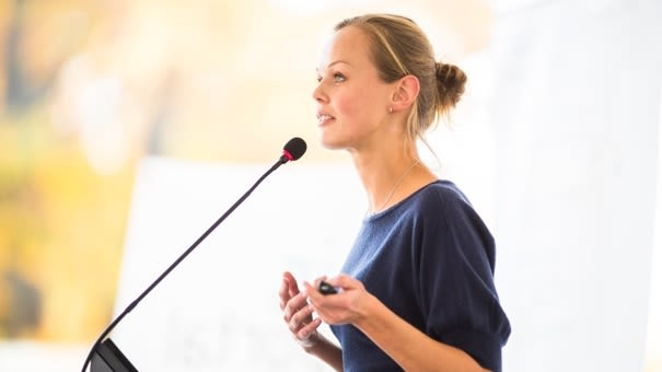 Public Speaking For Women