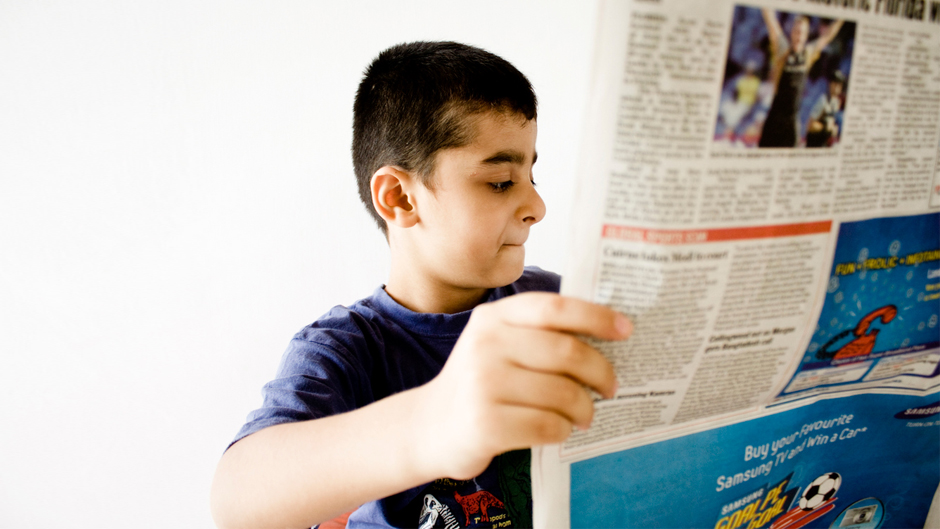 Newspaper Reading Workshop With Reading Right