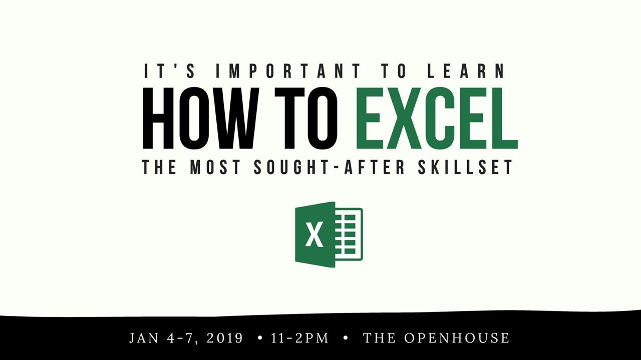 Excelsior Excel Workshop