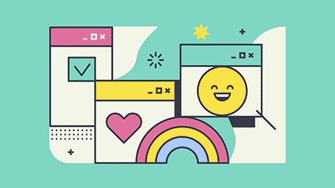 happy html