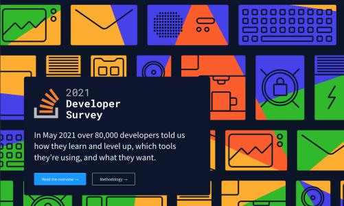 2021년 Stack Overflow 개발자 설문조사