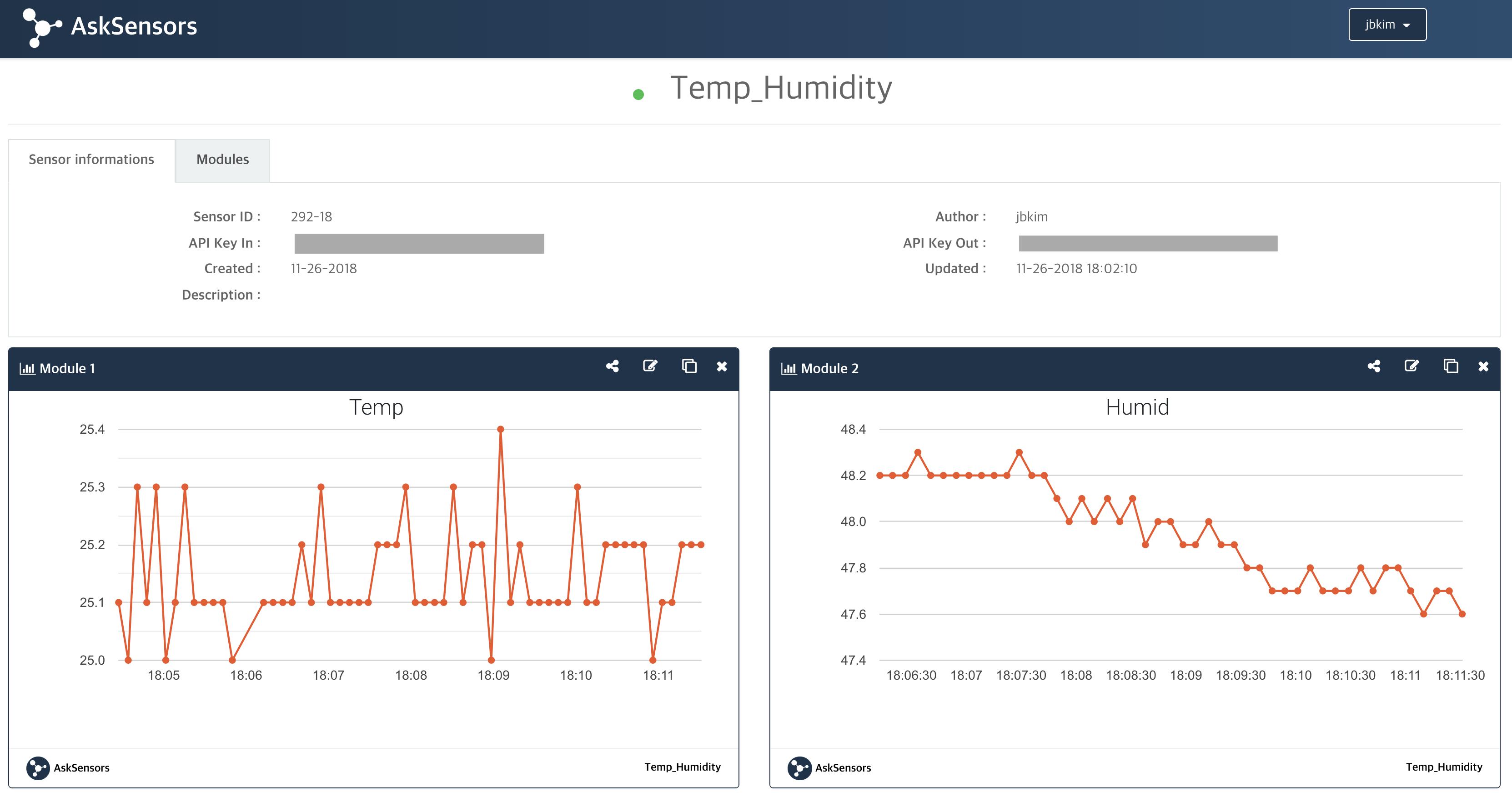 temp & humidity
