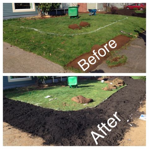 Homeowner Sod Cuts Contours Into His Yard 1458009320023_sod cutter contours before and after.jpg
