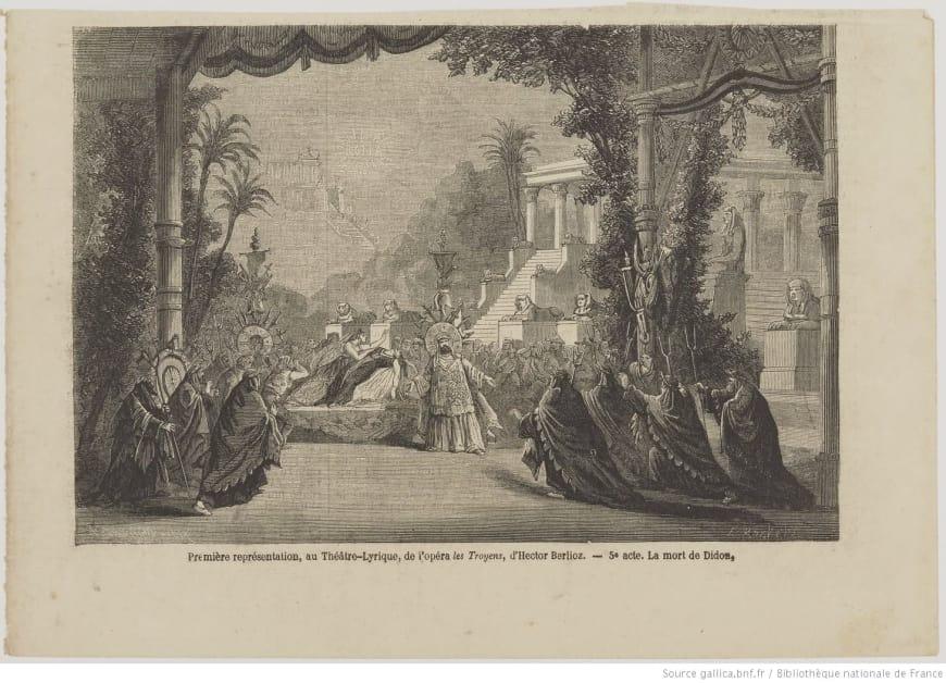 Première représentation, au Théâtre-Lyrique, de l'opéra
