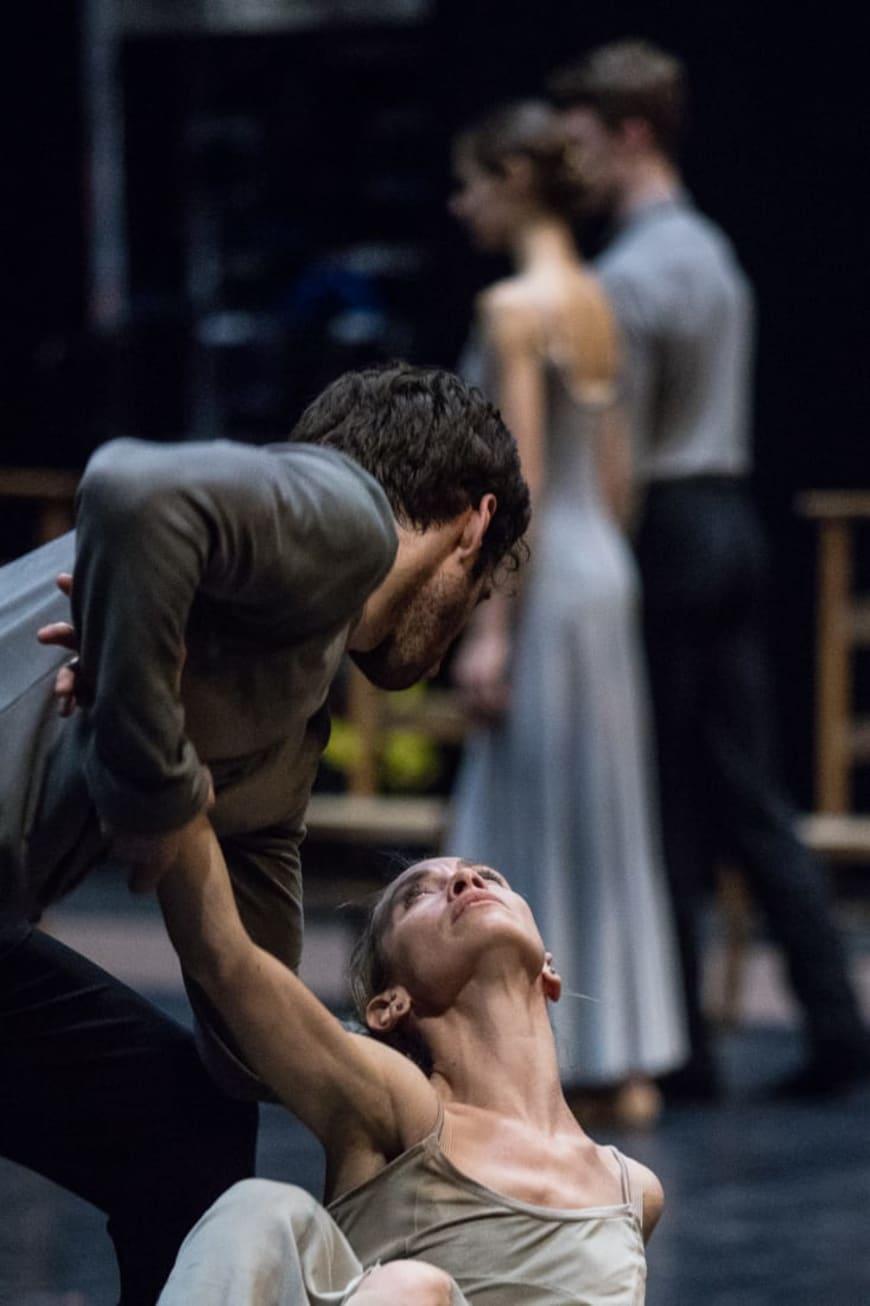 Répétition de « Symphonie de psaumes », Palais Garnier, 2016