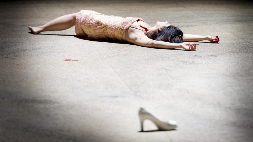 Varduhi Abrahamyan dans le rôle-titre de Carmen, Opéra Bastille, 2017