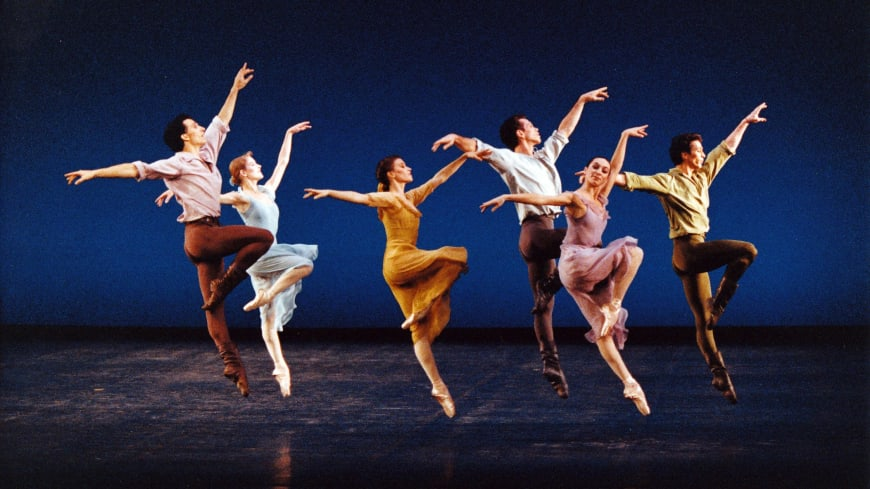 The Opera Ballet in Dances at a Gathering by Jerome Robbins, 1991