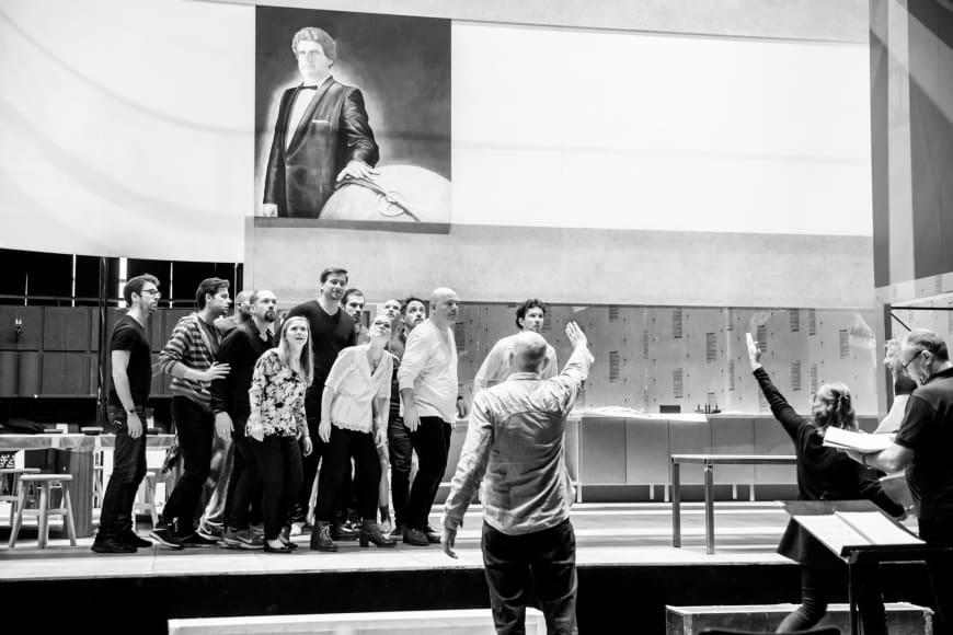 Parsifal en répétition