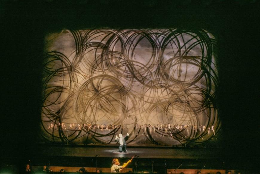 Répétition générale du spectacle de l'inauguration du théâtre avec Georges Prêtre à la baguette