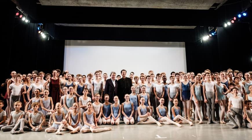 30 ans de l'École de Danse avec Jack Lang et Christian de Portzampac