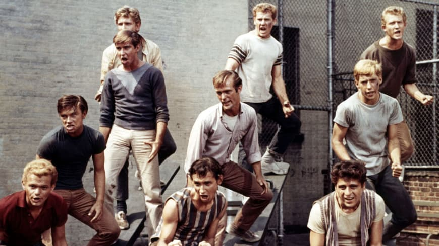 West Side Story, Robert Wise et Jerome Robbins, 1961