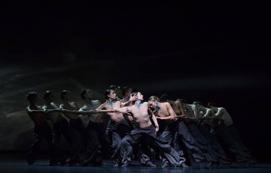 The Seasons' Canon, Crystal Pite, avec les danseurs du Ballet de l'Opéra national de Paris, Palais Garnier, 2016