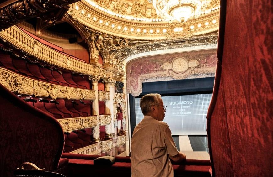 Hiroshi Sugimoto au Palais Garnier, 2019