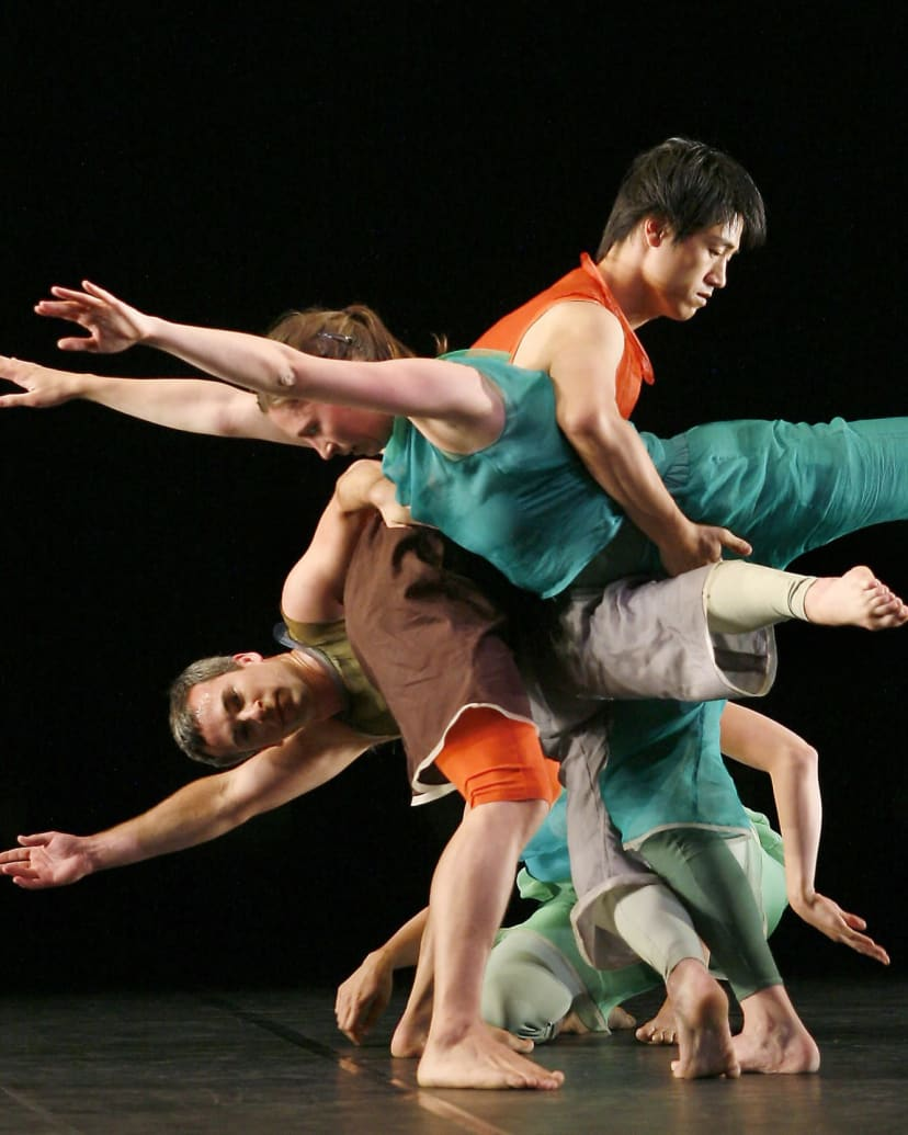 Trisha Brown & Laurie Anderson: from silence to electro