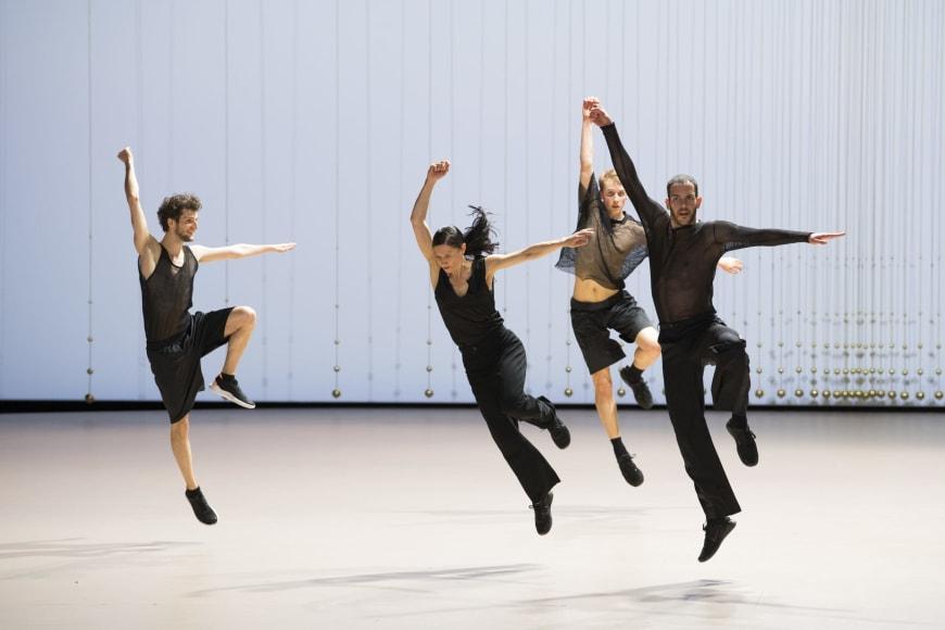 Les six Concertos brandebourgeois par la Compagnie Rosas, Palais Garnier, 2019