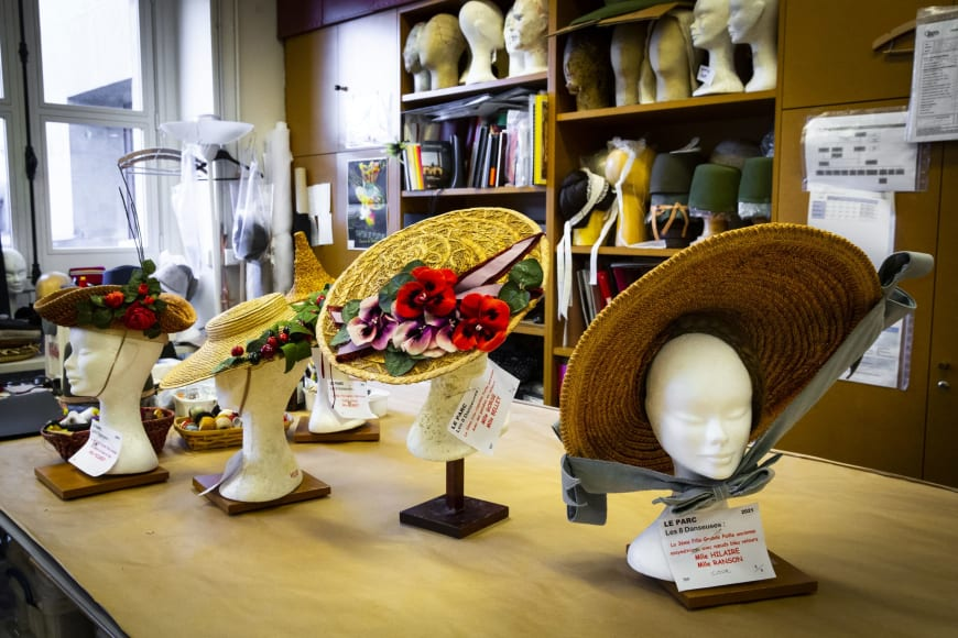 The hats from Le Parc