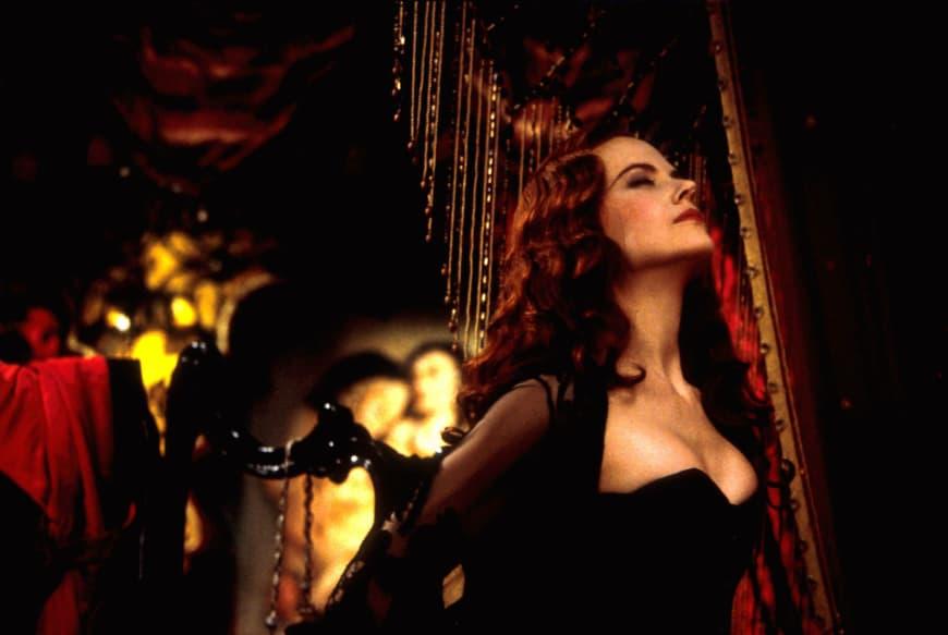 Moulin Rouge, film de Baz Luhrmann, 2001, avec Nicole Kidman