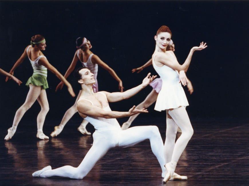 Laurent Hilaire et Carole Arbo dans En Sol à l'Opéra de Paris