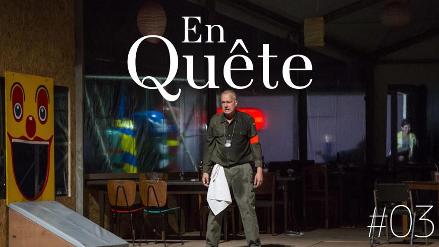 Johannes  Martin Kränzle (Wozzeck), Opéra de Paris 2017