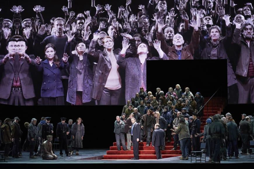 Alexander Tsymbalyuk (Boris Godounov), Opéra Bastille, 2018