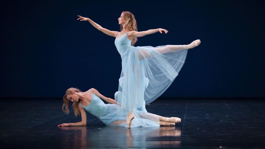 Sérénade, Myriam Ould-Braham et Eleonora Abbagnato, 2012, Opéra national de Paris