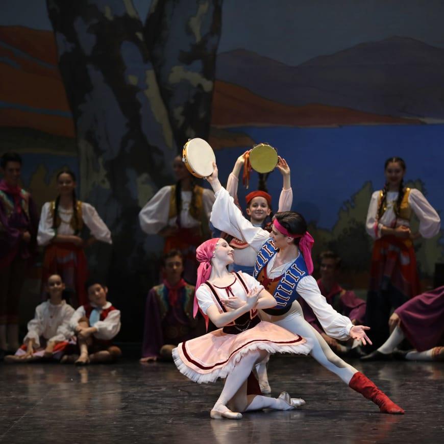 Les Deux Pigeons par l'École de Danse de l'Opéra, Palais Garnier, 2019
