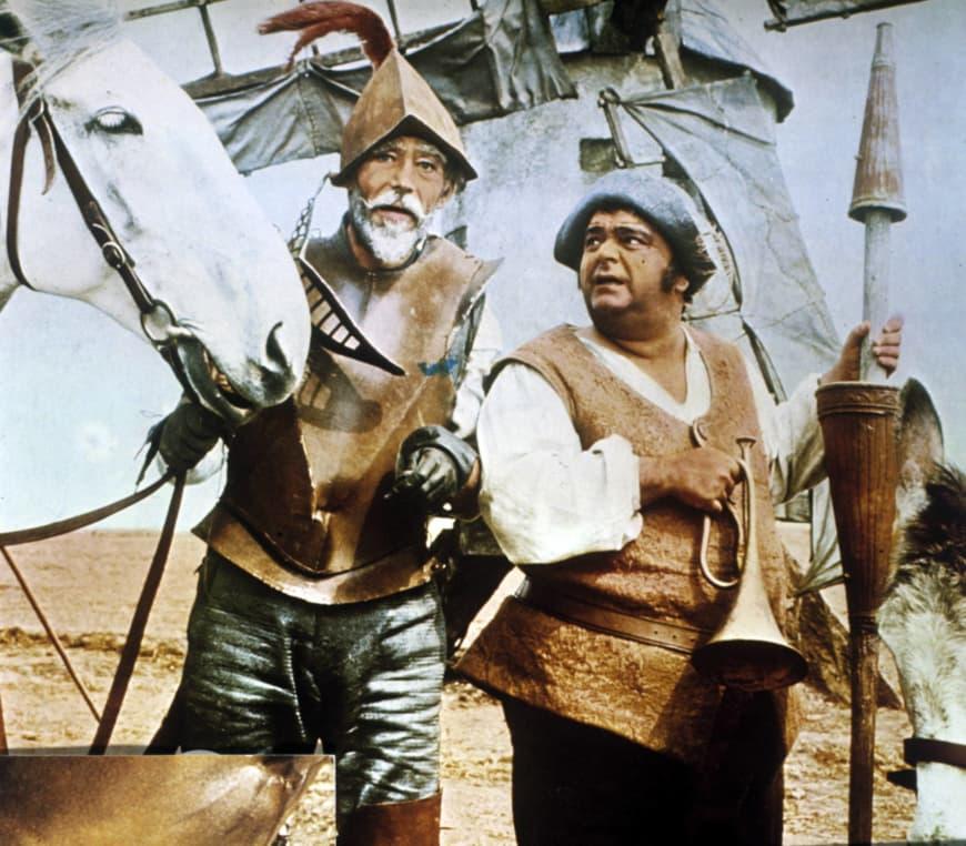 L'Homme de la Manche (Man of la Mancha) d'Arthur Hiller avec Peter O'Toole et James Coco, 1972