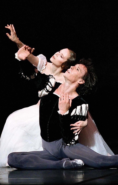 Laëtitia Pujol et Nicolas Le Riche dans Giselle