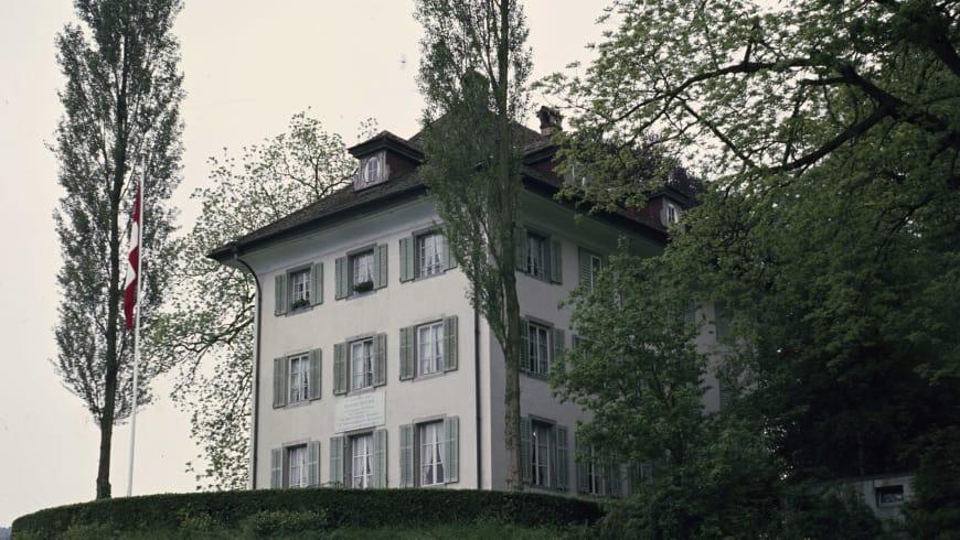 Maison de Tribschen (près de Lucerne) où Richard Wagner composa « Les Maîtres Chanteurs »