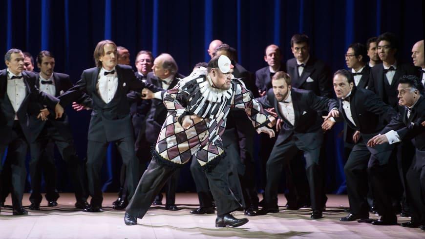 Quinn Kelsey (Rigoletto). Opéra national de Paris, 2016