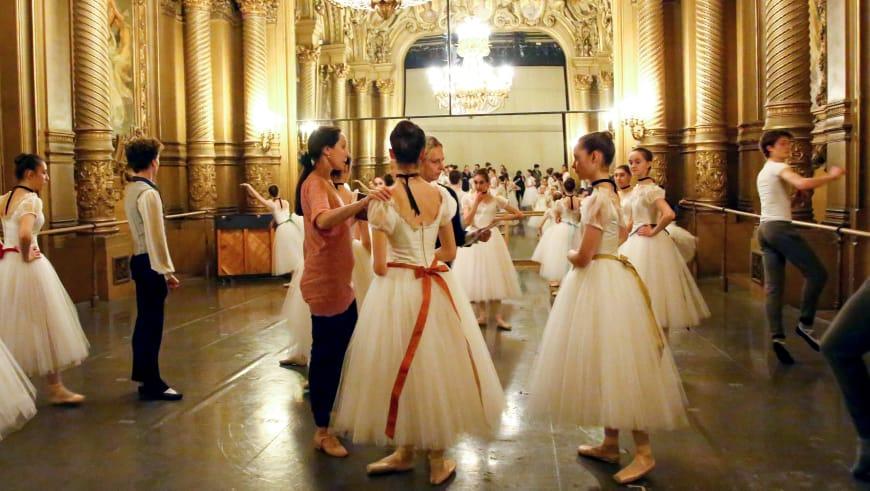 Répétition de Conservatoire d'Auguste Bournonville