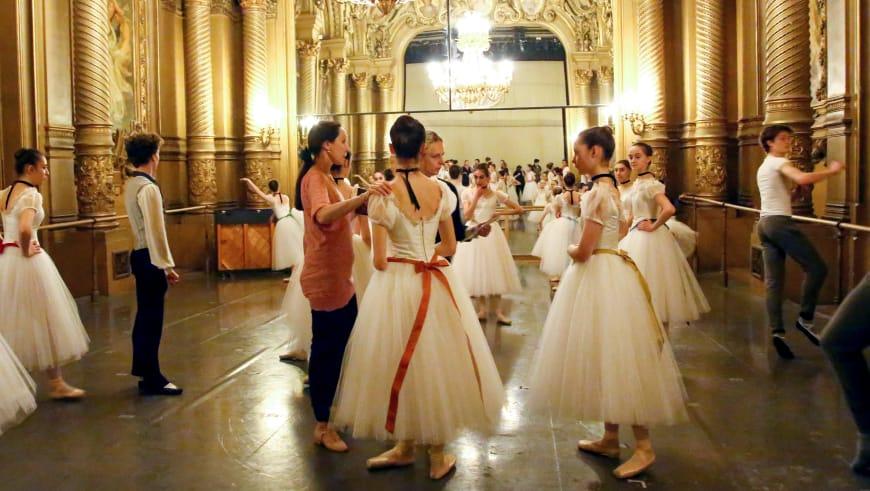 Rehearsal of Conservatoire by Auguste de Bournonville