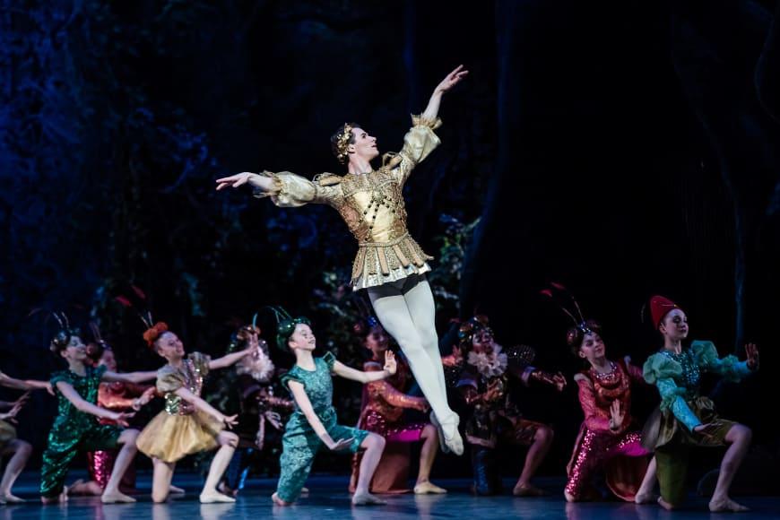 Pauk Marque dans « Le Songe d'une nuit d'été » de George Balanchine