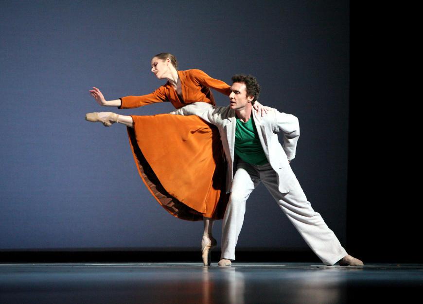 Laëtitia Pujol et Manuel Legris dans Sylvia
