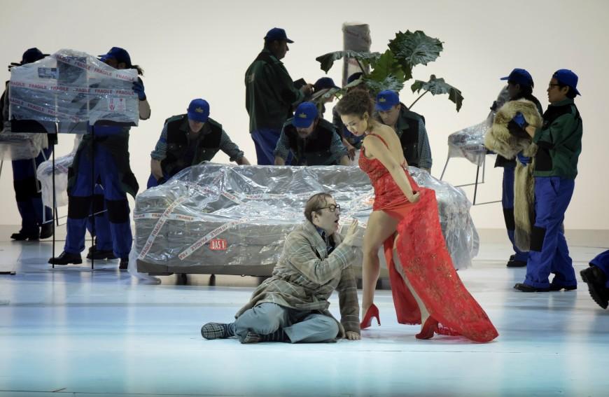 Michele Pertusi (Don Pasquale) et Nadine Sierra (Norina), Palais Garnier 201