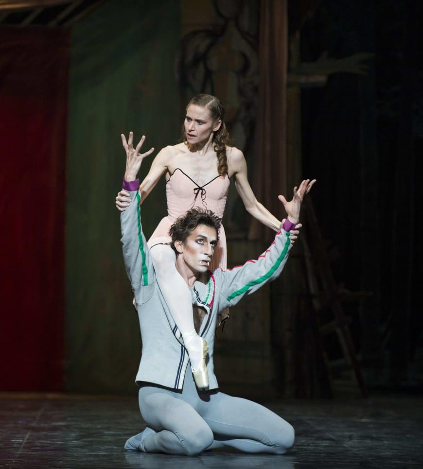 Laëtitia Pujol et Benjamin Pech dans Le Loup