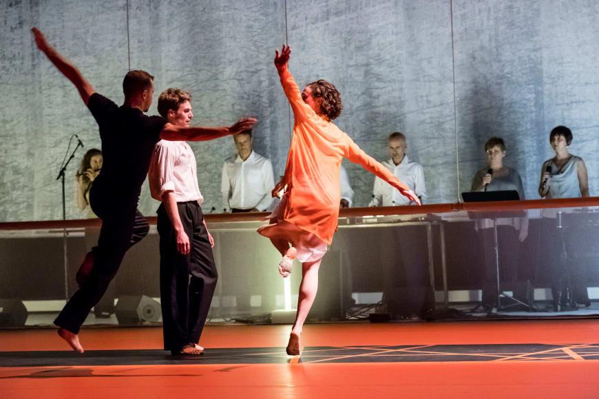 Adrien Couvez, Daniel Stokes, Juliette Hilaire et l'Ensemble Ictus