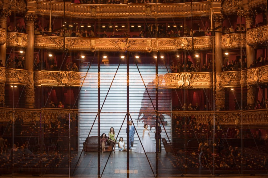Iphigénie en Tauride lors de la reprise à l'Opéra de Paris, 2016