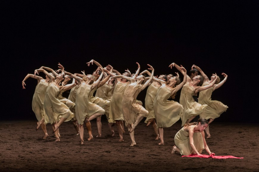 Le Sacre du printemps par le Ballet de l'Opéra, 2017