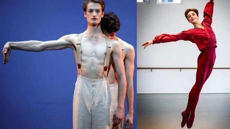 Simon Le Borgne and Léo de Busserolles join the Ballet (External competitive Recruitment)