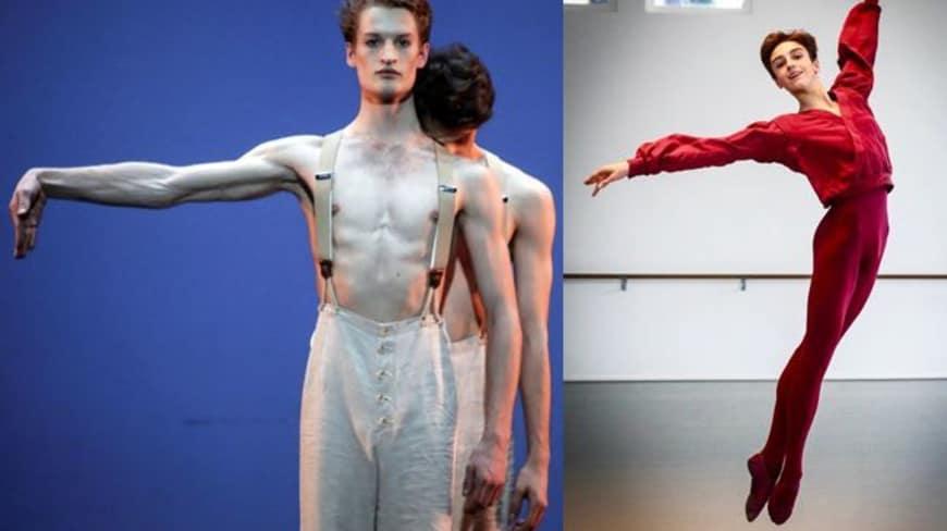 Simon Le Borgne et Léo de Busserolles, engagés au sein du Ballet (Concours externe)