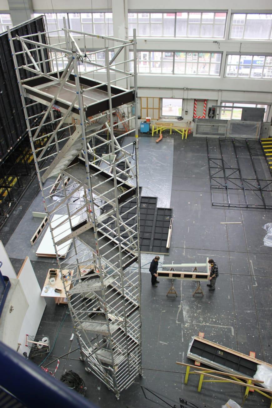 Atelier de construction de décor
