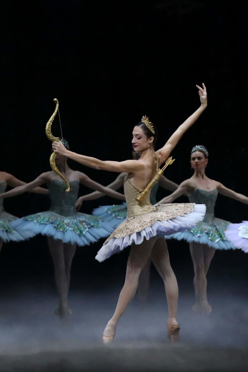Dorothée Gilbert (Cupidon) dans Don Quichotte, Opéra Bastille 2017