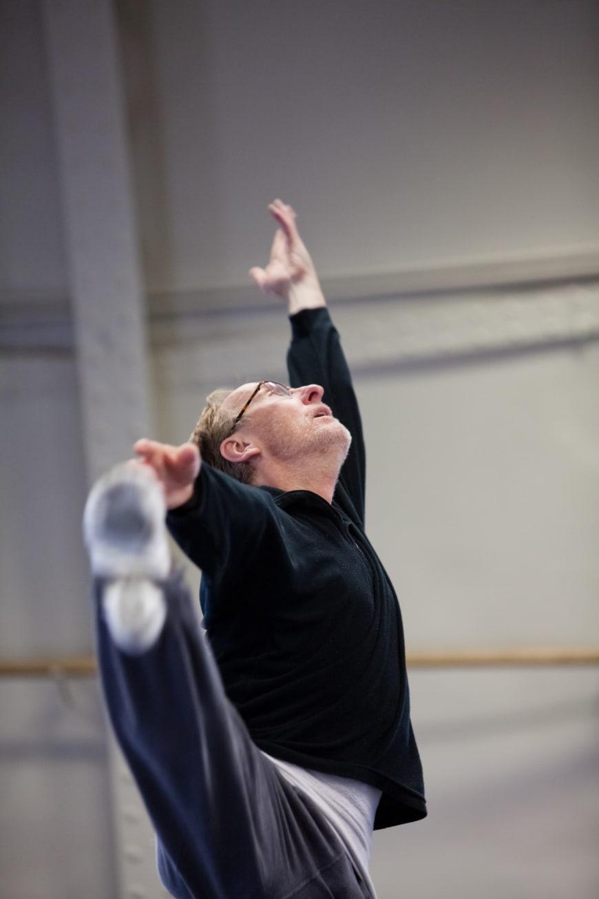 Orphée et Eurydice, Dominique Mercy au cours d'une répétition, 2012