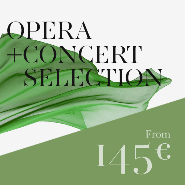 Mixed selection: 2 operas + 2 concerts / recitals