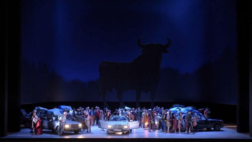 Carmen, acte III, Opéra Bastille, 2017